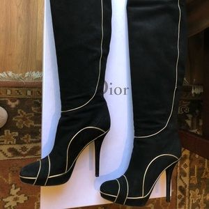 New Christian Dior Heeled Boots